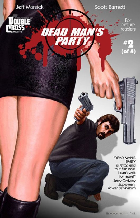 Issue 2 of Dead Man's Party