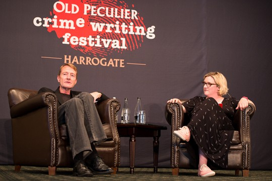 Lee Child interviewed by Sarah Milican.