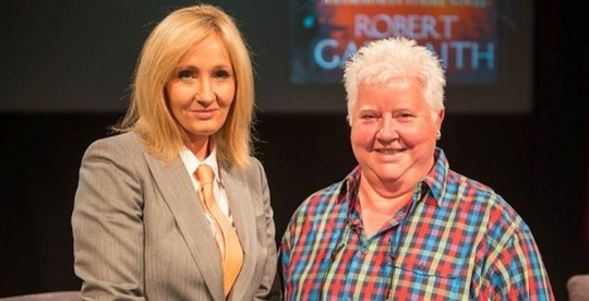 JK Rowling - aka Robert Galbraith - was interviewed on Friday by Scottish crime author Val McDermid.