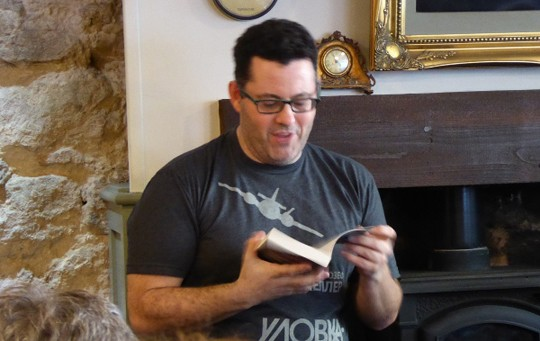 Adrian McKinty reads from Gun Street Girl.