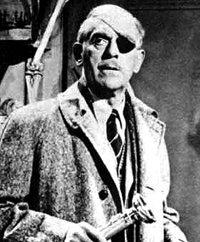 Boris Karloff in Colonel March of Scotland Yard.