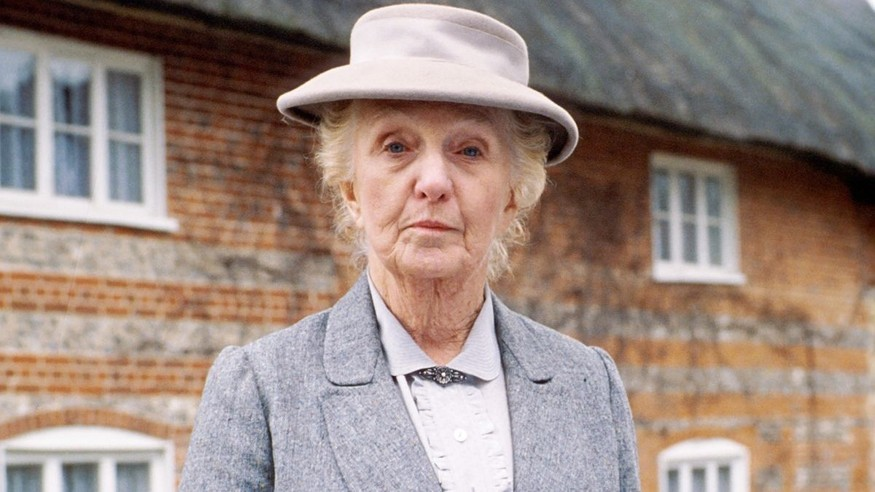 Is Joan Hickson the face of Miss Marple?