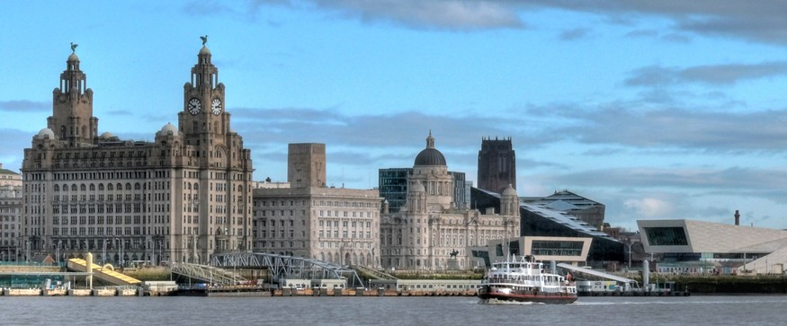 Liverpool skyline by Jimmy Guano