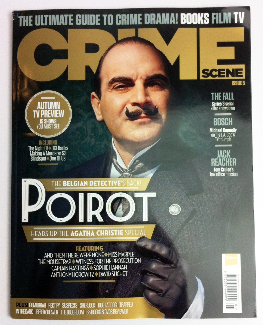 Crime Scene Magazine, issue 5, Poirot