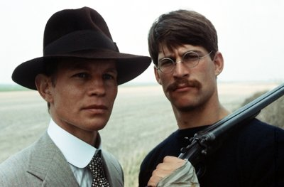 Michael York and Simon MacCorkindale in the 1979 film.
