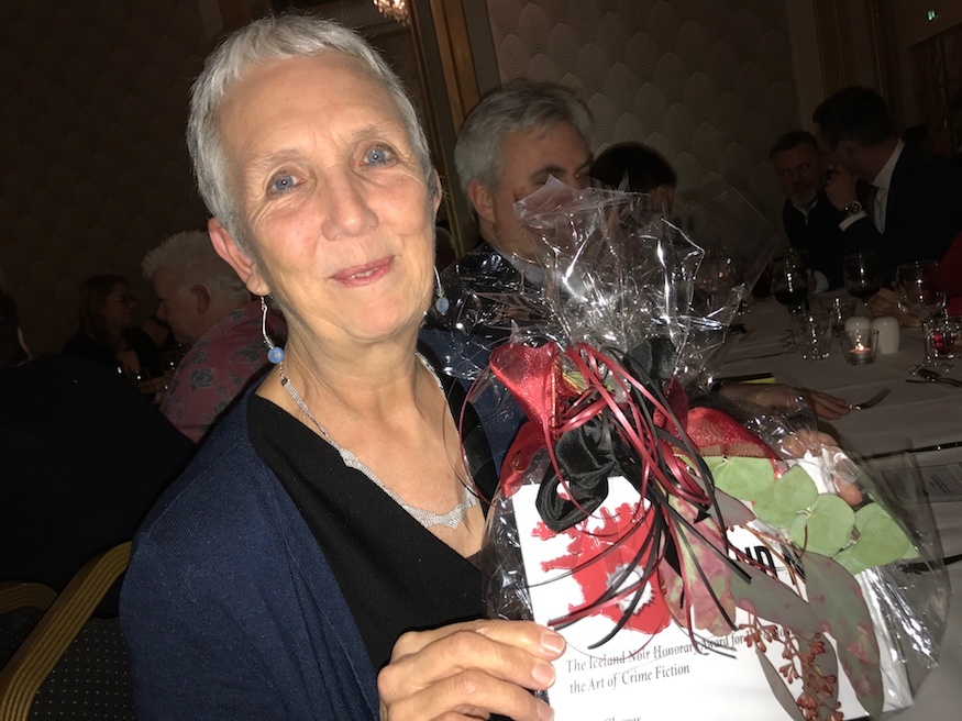 Ann Cleeves wins Iceland Noir's first honorary award for services to crime fiction