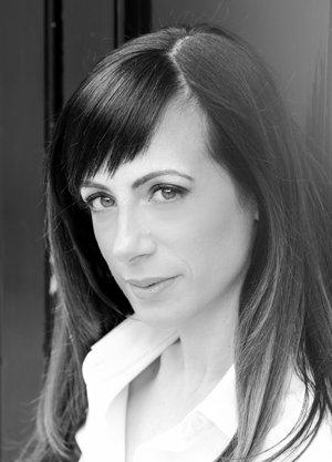 New author Johana Gustawsson.
